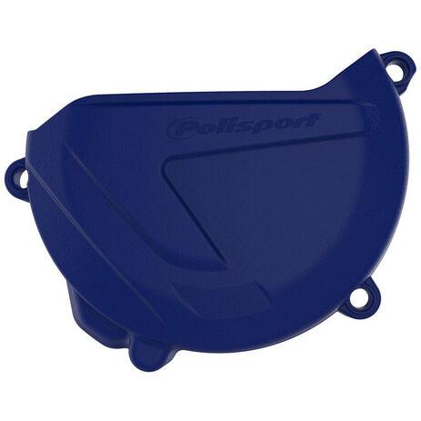 _Polisport Clutch Cover Protection Yamaha YZ 250 00-18 WR 250 16-18 Blue | 8463700002 | Greenland MX_