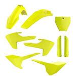 _Polisport Husqvarna TC/FC 16-18 Plastic Kit Full Yellow Fluor | 90741 | Greenland MX_