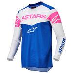 _Alpinestars Fluid Tripple Jersey Blue/White/Pink   3762522-7259   Greenland MX_