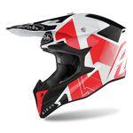 _Airoh Wraap Raze Helmet Red   WRRA55   Greenland MX_