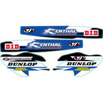 _TJ Suspension Decal Kit Yamaha YZ 250/450 F 10-17 | SKYZF1011 | Greenland MX_