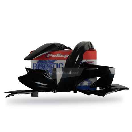 _Polisport CR 125/ 250 02-07 plastic kit black | 90192 | Greenland MX_
