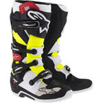_Alpinestars Tech 7 Boots Black/Red/Yellow | 2012014-136-P | Greenland MX_