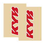 _Tj vinyl fork protectors kayaba Red | TJFSKYBRD | Greenland MX_