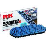 _RK 520 MXZ4 Super Reinforced Chain 120 Links Blue | TC-RKMXZ4BL | Greenland MX_