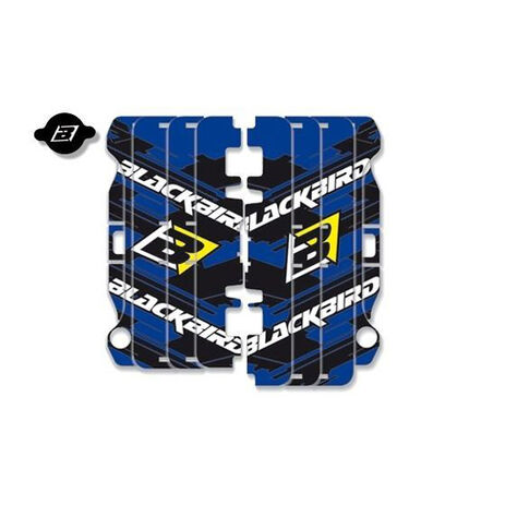 _Rad Louver Decals Blackbird Yamaha YZ 250/450 F 14-17 | A204E | Greenland MX_
