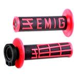 _ODI MX Lock On V2 Emig 2/4 ST Grips Black/White | H36EMBR | Greenland MX_
