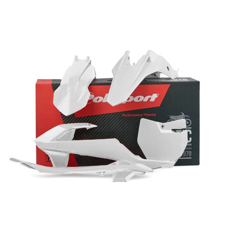 _Polisport KTM SX 65 16-18 Plastic Kit White   90685   Greenland MX_