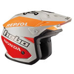 _Hebo Zone 5 Montesa Team II Trial Helmet | HC1153B | Greenland MX_