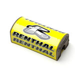 _Renthal fat bar square handlebar pad Yellow | P283 | Greenland MX_