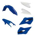 _Race tech Husaberg TE/FE 13-14 Plastic Kit Blue/White | RTKITHBG-OEM-400 | Greenland MX_
