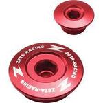 _Zeta Yamaha WR 250 F 01-02 WR 250 R/X 07-17 YZ 250 F 01-13 Engine Plugs Red   ZE89-1410   Greenland MX_