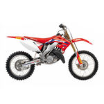 _Blackbird Réplica Team 2020 Honda CR 125/250 02-07 Seat Cover + Decal Kit | 8136R21 | Greenland MX_