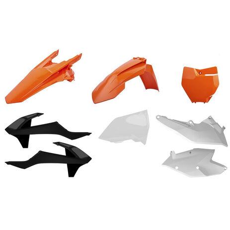 _Polisport KTM EXC/EXC-F 17-18 Plastic Kit OEM   90751   Greenland MX_