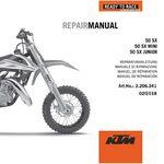 _KTM DVD 50 SX Mini 09-19 Repair Manual   3206341   Greenland MX_