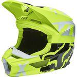_Fox V1 Skew Helmet Fluo Yellow | 27999-130 | Greenland MX_