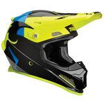 _Thor Sector Shear Helmet Yellow Fluo/Black | 0110-5586-P | Greenland MX_