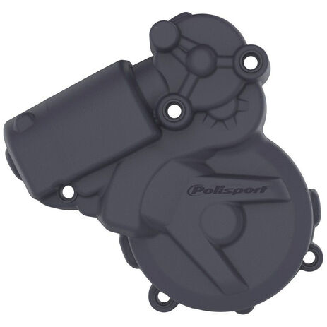 _Husqvarna TE 250/300 14-16 Ignition Cover Protector Polisport Blue   8464300003   Greenland MX_
