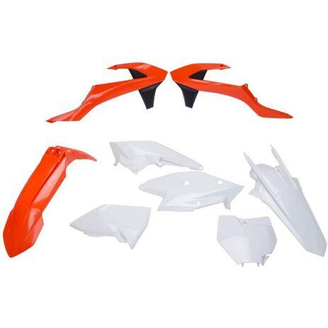 _Polisport KTM SX 125/144/250 SX-F 16-18 SX 250 17-19 Plastic Kit OEM | 90679-P | Greenland MX_