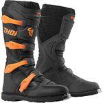_Thor Blitz XP Youth Boots Black/Orange | 3411-0510-P | Greenland MX_