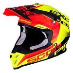 _Scorpion VX-16 Air Arhus Helmet Yellow Fluo/Red Fluo   46-266-221   Greenland MX_