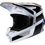 _Fox V2 Hayr Helmet Blue/Red | 23973-149 | Greenland MX_
