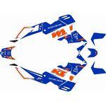 _KTM Adventure 990 06-13 Full Sticker Kit | SK-KTM990ADVBLU-P | Greenland MX_