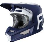_Fox V1 Werd Helmet Navy | 25473-007 | Greenland MX_