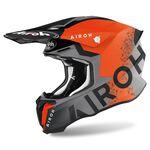 _Airoh Twist 2.0 Bit Helmet Orange   TW2BI32   Greenland MX_