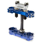 _Triple Clamp Neken SFS Yamaha YZ 250 F 14-17 YZ 450 F 14-15 (Offset 22mm) Blue | 0603-0591 | Greenland MX_