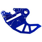 _4MX Husqvarna 14-16 Husaberg 09-14 Rear Brake Disc Guard Blue | 4MX-RBDG-02BL | Greenland MX_