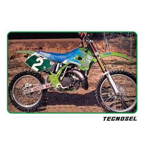 _ Tecnosel Seat Cover Replica Team Kawasaki 1996 KX 125/250 94-98 | 14V01 | Greenland MX_
