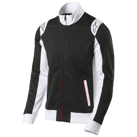 _Alpinestars Spa Track Jacket Black | 1015-11006-10 | Greenland MX_
