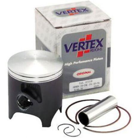 _Vertex Piston Honda 250 CR 89-96 Suzuki RM 250 96-99 2 Ring | 2386 | Greenland MX_