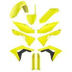 _Polisport Honda CRF 450 R 17-18 Plastic Kit Full Yellow Fluor | 90742 | Greenland MX_