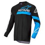 _Alpinestars Fluid Chaser Jersey Black/Blue   3762422-1773   Greenland MX_