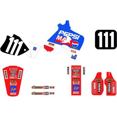 _Tecnosel Sticker Kit Replica Team Honda Pepsi 1994 CR 125 93-94 CR 250 92-94   21V06   Greenland MX_