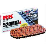 _RK 520 MXZ4 Super Reinforced Chain 120 Links Orange | TC-RKMXZ4OR | Greenland MX_