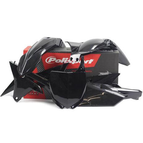_Polisport Yamaha Yamaha YZ 250/450 F 14-16 Plastic Kit Black | 90583 | Greenland MX_
