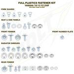 _Yamaha Full Plastics Fastener Kits YZ 250 F 10-13 WR 450 F 12-13 | BO-YAM-101002 | Greenland MX_