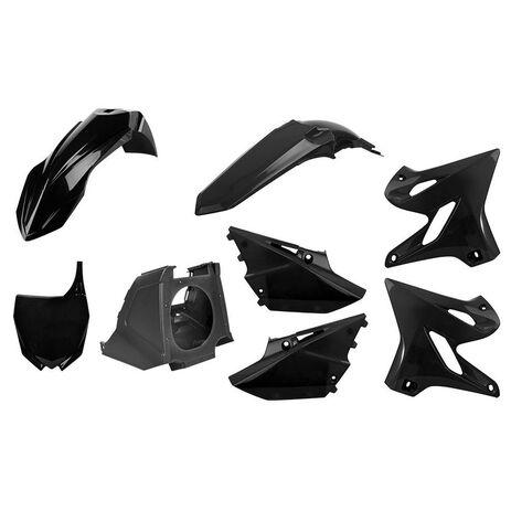 _Polisport MX Restyling Yamaha YZ 125/250 02-14 to 15-18 Plastic Kit Black | 90718 | Greenland MX_