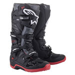 _Alpinestars Tech 7 Boots Black/Gray/Red   2012014-1153   Greenland MX_