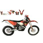 _Graphic Kit Blackbird KTM EXC 05-07 SX/SX-F 05-06 | 2526L | Greenland MX_