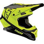 _Thor Sector MIPS Split Helmet Black/Acid | 0110-621NA-P | Greenland MX_