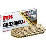 _RK 520 MXZ4 Super Reinforced Chain 120 Links Gold | HB752033120G | Greenland MX_