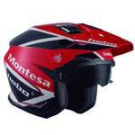 _Hebo Trial Zone 5 Air Montesa Classic III Helmet | HC1158R-P | Greenland MX_