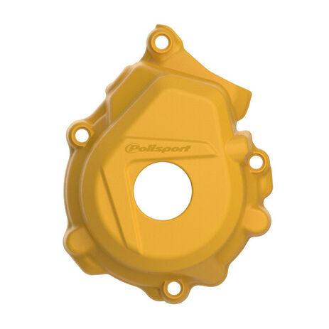 _KTM SX-F 250/350 16-.. HVA FC 250/350 16-.. Ignition Cover Protector Polisport Yellow | 8461400004 | Greenland MX_