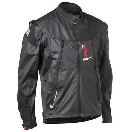 _Leatt GPX 4.5 Lite Jacket Black/Gray | LB5018700100-P | Greenland MX_