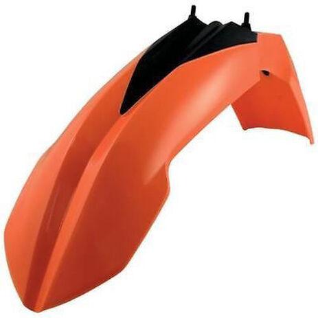 _Polisport KTM EXC 14-16 EXC-F 14-15 SX/SX-F 13-15 Front Fender Orange | 8573700001 | Greenland MX_