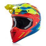 _Acerbis Profile 3.0 S Helmet Yellow Fluo/Red | 0022664.281 | Greenland MX_